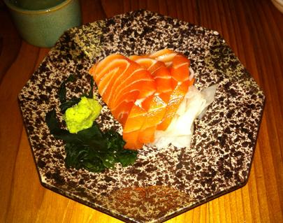 Skuna Bay Prime Salmon Sashimi