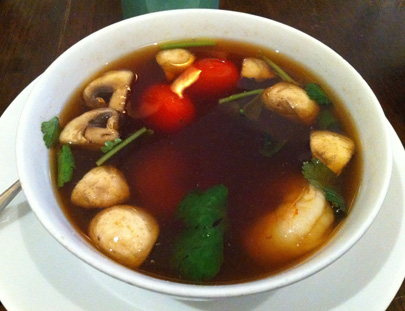 Tom Yum Goong (Shrimp Lemongrass Soup)