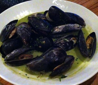Mussels in Thai Cream Sauce