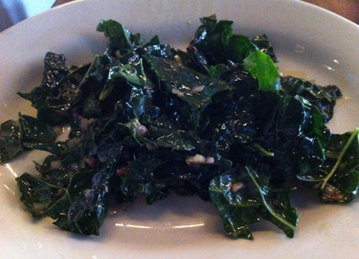 Kale Salad with Anchovy Vinaigrette