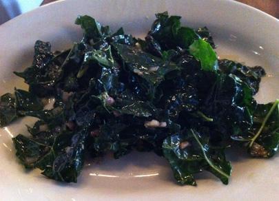 Kale Salad with Anchovy Vinaigrette