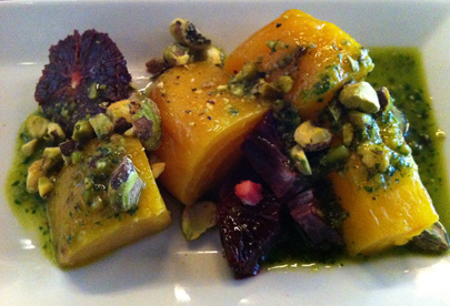 Beet Salad with Blood Orange an Pistachios