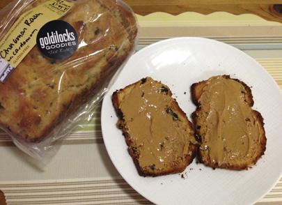 Cinnamon-raisin sandwich bread with a hint of cardamom