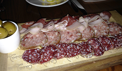 Chef's pick of 3 Salumi