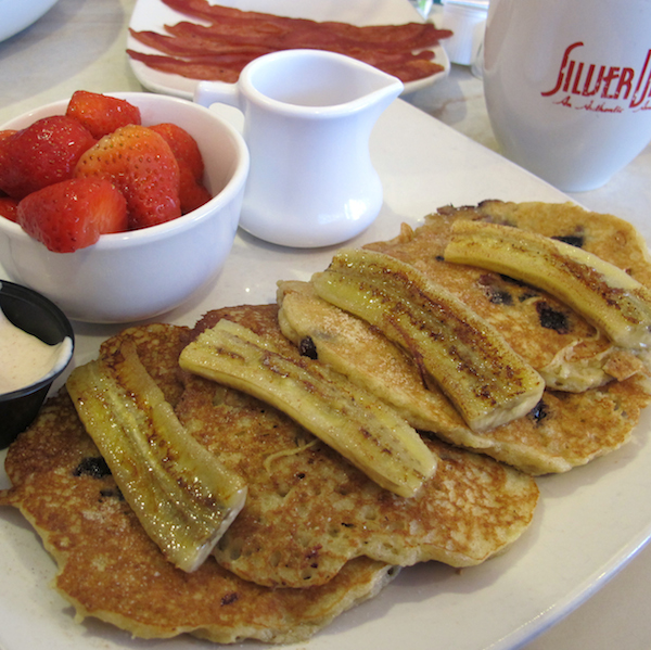 Quinoa Coconut Pancakes from the Silver Diner.